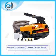 Máy xịt rửa xe mini gia đình Sakura - công suất mạnh 2400W dễ dàng sử dụng