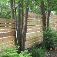 Hide Chain Link Fence Design Ideas Pictures Remodel And Decor Fence Design Modern Landscaping Chain Link Fence