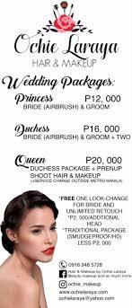 wedding hair and makeup artist pasig city