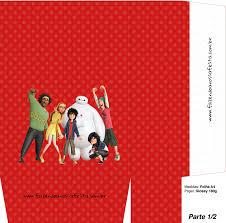 Cajas De Big Hero 6 Para Imprimir Gratis Oh My Fiesta Friki