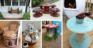 15 wonderful diy wire spools furniture