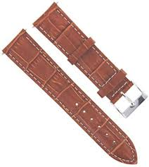 19mm leather watch strap band for rolex