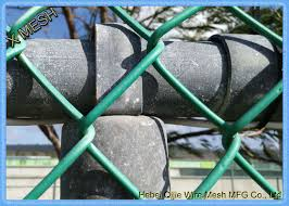 Extruded Chain Link Fence Privacy Screen Slats Pvc Coated For Border Fencing