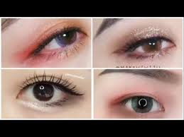 cara pakai eyeshadow ala artis korea