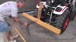 everything attachments pine needle rake