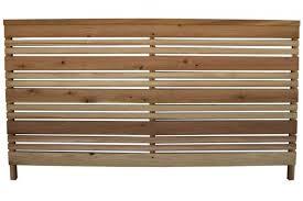 3 Ft X 6 Ft Redwood Flat Top Wood Fence Panel