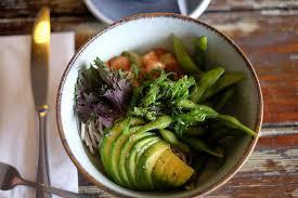 healthy hawaiian poke bowl at ono poke
