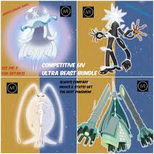 4 6IV Ultra Beast Bundle Pokemon Sun and Moon 3DS Nintendo Alola Alolan  Gamefreak - 3DS Games - Gameflip
