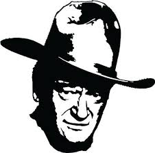 John Wayne Vinyl Decal Bumper Sticker Duke Westerns Western Dvd Country Ebay