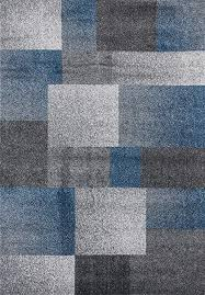 3705 blue 8x11 area rug modern carpet