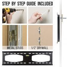 metal stud tv wall mounting kit