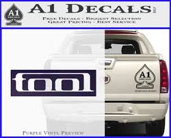 Tool Band Logo New Decal Sticker A1 Decals