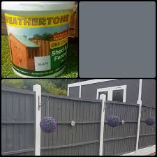 10 Litre Slate Grey One Coat Fence Paint In S30 Sheffield For 12 00 For Sale Shpock