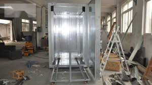 china electric powder coating ovens for