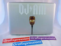 Dj Am Ironman Macbook Sticker Kit Grafixpressions