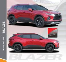 Blaze Blazer Door Stripes Blazer Decals Blazer Vinyl Graphics