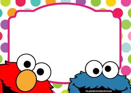 Sesame Street Twin Birthday Invitation Template Con Imagenes