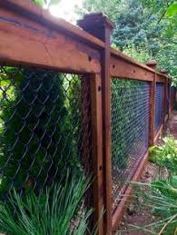 100 Chain Link Fence Makeover Ideas Fence Backyard Backyard Fences