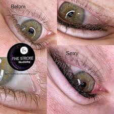 eyeliner tattoo permanent makeup