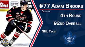 Adam Brooks Drafted 92nd Overall – Regina Pats