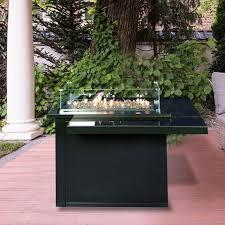 muztag cádiz outdoor table fire pit