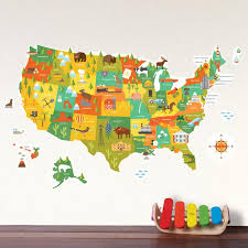 united state writable wall decal design