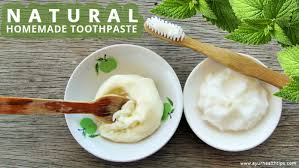 natural homemade toothpaste recipe and