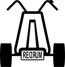 The Shining Big Wheel Trike Inspired Vinyl Decal Window Sticker 4 Redrum Ebay