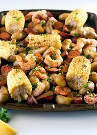 Sheet Pan Shrimp Boil