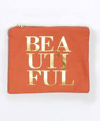8 oak lane canvas pouch cosmetic bag