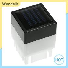 Home Warm White Square Waterproof Led Solar Light Fence Post Pool Garden Lamp Shopee Philippines