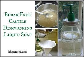 castile soap dishwashing liquid