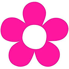 Amazon Com Hippie Flower Power Floral Pink Decal Window Pink Sticker Automotive