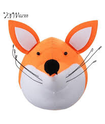 Hot Sale 3d Felt Fox Animal Head Wall Decorations Animals Head Toys Kids Bedroom Wall Hangings Artwork Baby Gifts Stuffed Toys Buy Hot Sale 3d Felt Fox Animal Head Wall Decorations