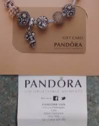 where to pandora gift cards the