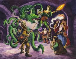 Peter Pagano Graphics and Illustration Home • Fantasy • About • Contact •  Store Manual of Unknown Monster Book Cover Manual of Unknown Monsters Cover  illustration for the role-playing game book containing over sixty fantasy  character illustrations ...