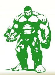 Hulk The Incredible Hulk Wall Decal Teen Childs Bedroom Marvel Avengers Green Ebay
