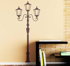 Retro Lamp Wall Sticker Tenstickers