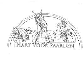 Kleurplaten Van Hart Voor Paarden Hartvoorpaarden