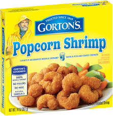 Crunchy Golden Breaded Popcorn Shrimp ...