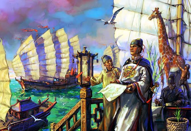 Image result for admiral zheng he""