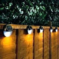 Solar Led Fence Post Lights Sigratausand Vip