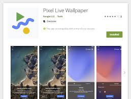 pixel live wallpaper app arrives on