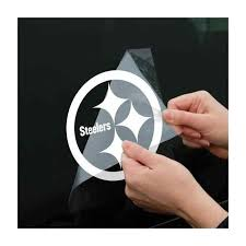 Pittsburgh Steelers Die Cut 8 X 8 Window Decal