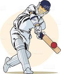 Cricket batsman clipart 4 » Clipart Station