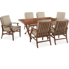 catalina 7 piece dining set the