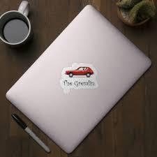 The Gremlin Gremlin Car Sticker Teepublic