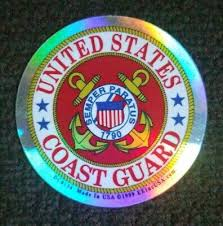 United States Coast Guard Car Decal Window Sticker Uscg 3 75 X 3 75 Collectibles Collectibles Stickers Decals