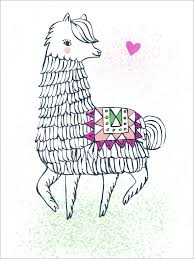 Love Of An Alpaca Animals Posters That Stick Oopsy Daisy