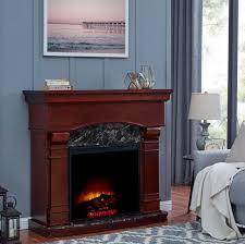 fake gas fireplace